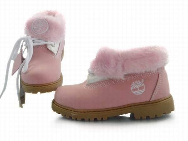 chaussure fourrure timberland